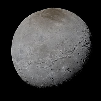 Charon (moon) - Charon in true color, imaged by New Horizons