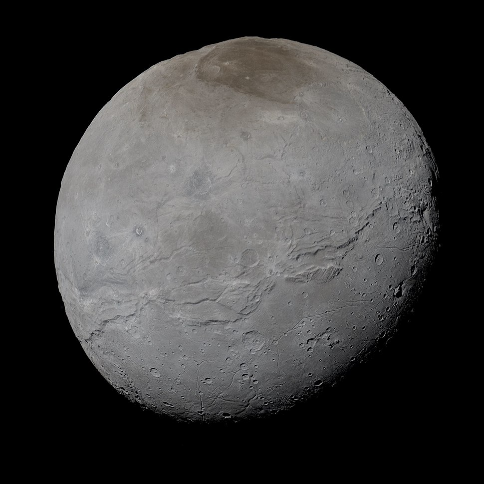 Charon in True Color - High-Res