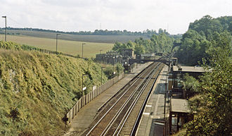 Chelsfield railway station - Chelsfield station (1983)