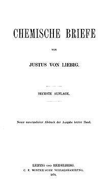 Chemische Briefe, Titelblatt (Quelle: Wikimedia)