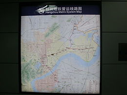 Chengzhan station map.JPG