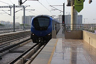 Chennai Metro Rapid transit system in Chennai, India