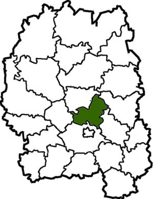 Cherniakhiv Raion - Image: Chernyahivskyi Raion