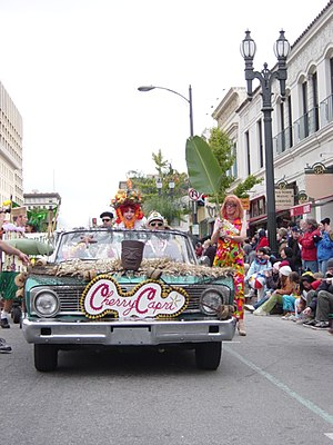 Cherry Capri - Cherry Capri, Queen of the 2004 Pasadena Doo Dah Parade