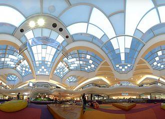 Cherry Creek Shopping Center - Cherry Creek Mall atrium and playground