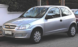 Chevrolet Celta - Image: Chevrolet Celta 3dr post 2006 Front