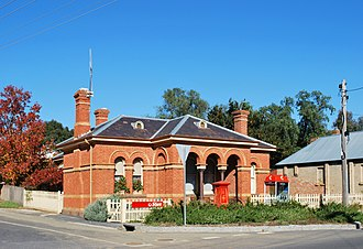 Chewton, Victoria - Image: Chewton Post Office 001
