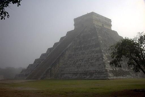 Chichén Itzá am Morgen