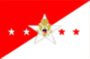 Flag officer - Flag of the Chief of Staff of the United States Army