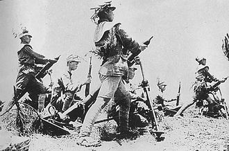Battle of Wuhan - Chinese troops in Xinyang