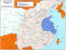 "Zones of control during the ""Nanjing decade"""