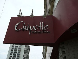 Español: Restaurant Chipottle Mexican Grill in...