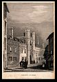 Christ's college, Cambridge. Line engraving by J. Le Keux, 1 Wellcome V0012314.jpg