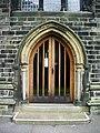 Christ Church, Skipton, Doorway - geograph.org.uk - 932683.jpg