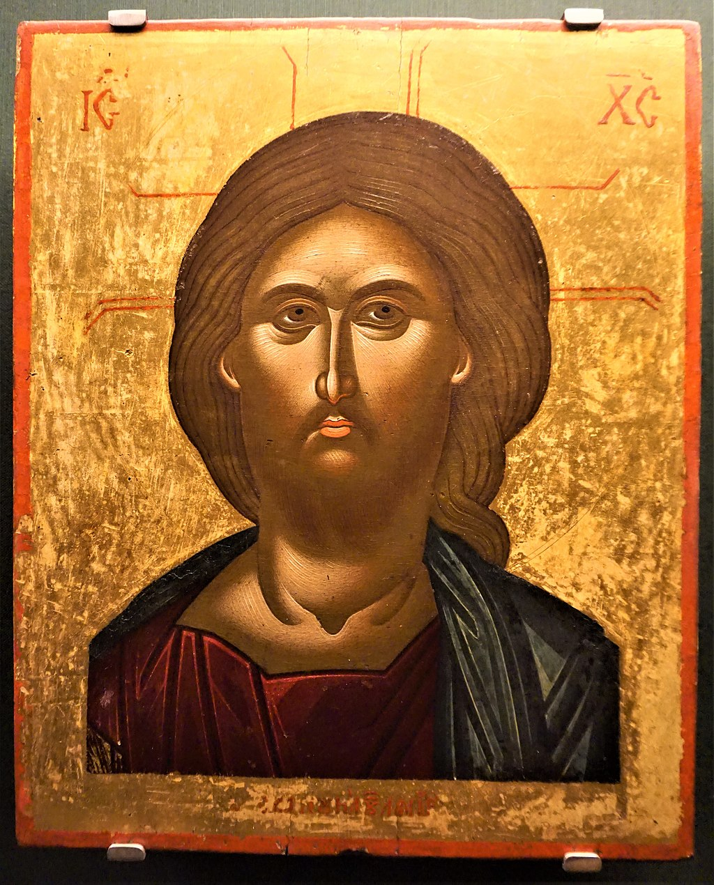 Christ by Emmanuel Lambardos - Benaki Museum, Athens - Joy of Museums