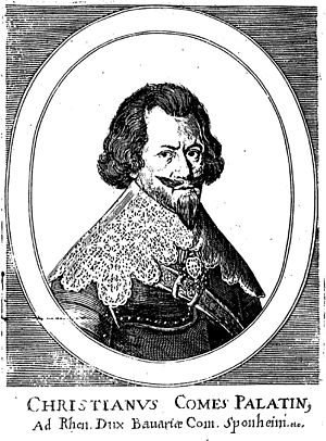 Christian I, Count Palatine of Birkenfeld-Bischweiler - Count Palatine by Rhine, Duke in Bavaria, Count to Sponheim etc.