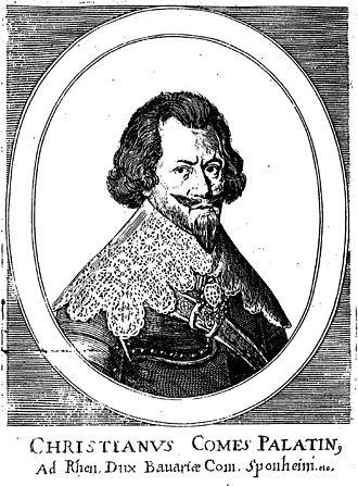 Christian I, Count Palatine of Birkenfeld-Bischweiler - Count Palatine by Rhine, Duke in Bavaria, Count to Sponheim etc.