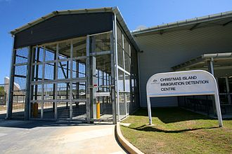 Immigration detention - Christmas Island Immigration Detention Centre