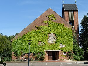 Mürwik - Image: Christuskirche (Flensburg Mürwik, Juli 2014), Bild 02