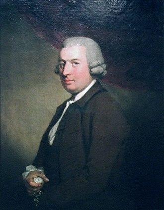 John Arnold (watchmaker) - Chronometer-maker John Arnold (attributed to Mason Chamberlin, ca. 1767)