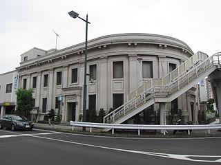 昭和3年建築の小田原支店(前明和銀行本店、旧横浜銀行小田原支店)