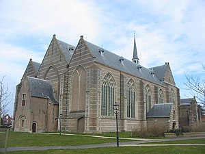 Brouwershaven - The Church of Brouwershaven looks relatively large for the nowadays small town