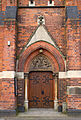 Church of St Cyprian and St Chad Door (8568616611).jpg
