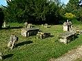Churchyard, St Nicholas' church, Asthall - geograph.org.uk - 861017.jpg