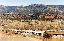 Cibuque Fort Apache reservation settlement, Arizona.jpg