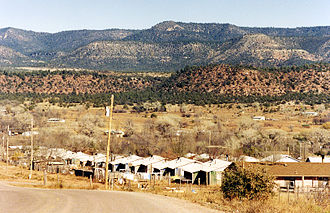 Cibecue, Arizona - View of Cibecue
