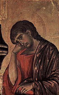 CIMABUE Crucifix (John) 1268-1271