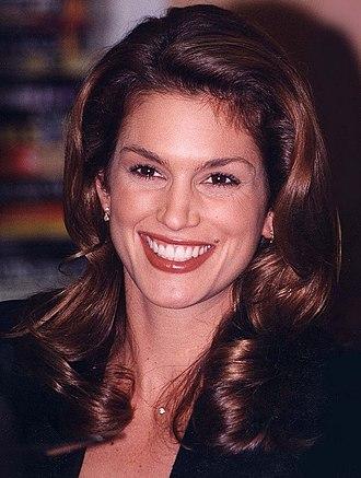 Cindy Crawford - Crawford in 1995