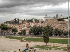 Circus Maximus West Roma Italy HDR 2013 03