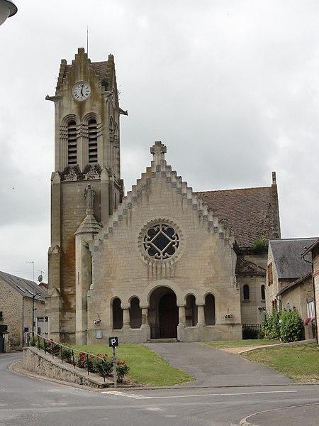 Ciry-Salsogne (Aisne) église Saint-Martin