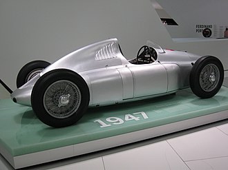 Cisitalia Grand Prix - Porsche 360 Cisitalia in the new Porsche museum
