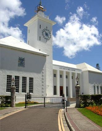 Hamilton, Bermuda - City Hall in Hamilton