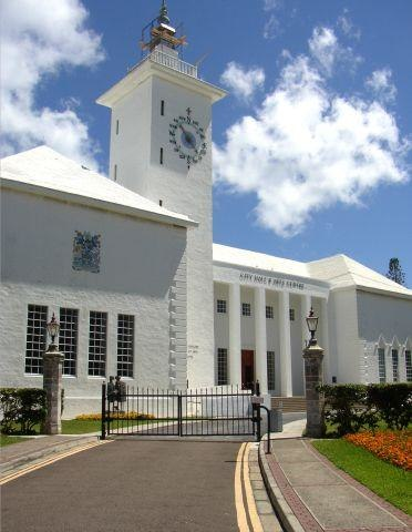City Hall in Hamilton, Bermuda