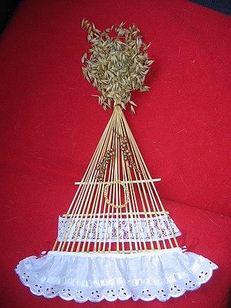 Corn dolly - Image: Claidheach