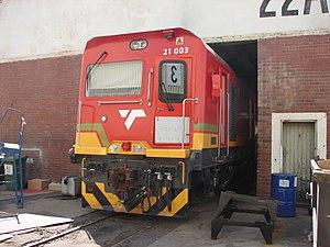 South African Class 21E - Image: Class 21E 21 003