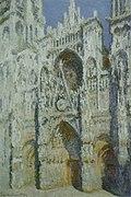 Claude Monet - Cathédrale de Rouen. Harmonie bleue et or.jpg