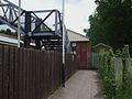 Claygate station western entrance.JPG