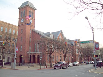 Clearfield County, Pennsylvania - Image: Clearfield County Courthouse Apr 10