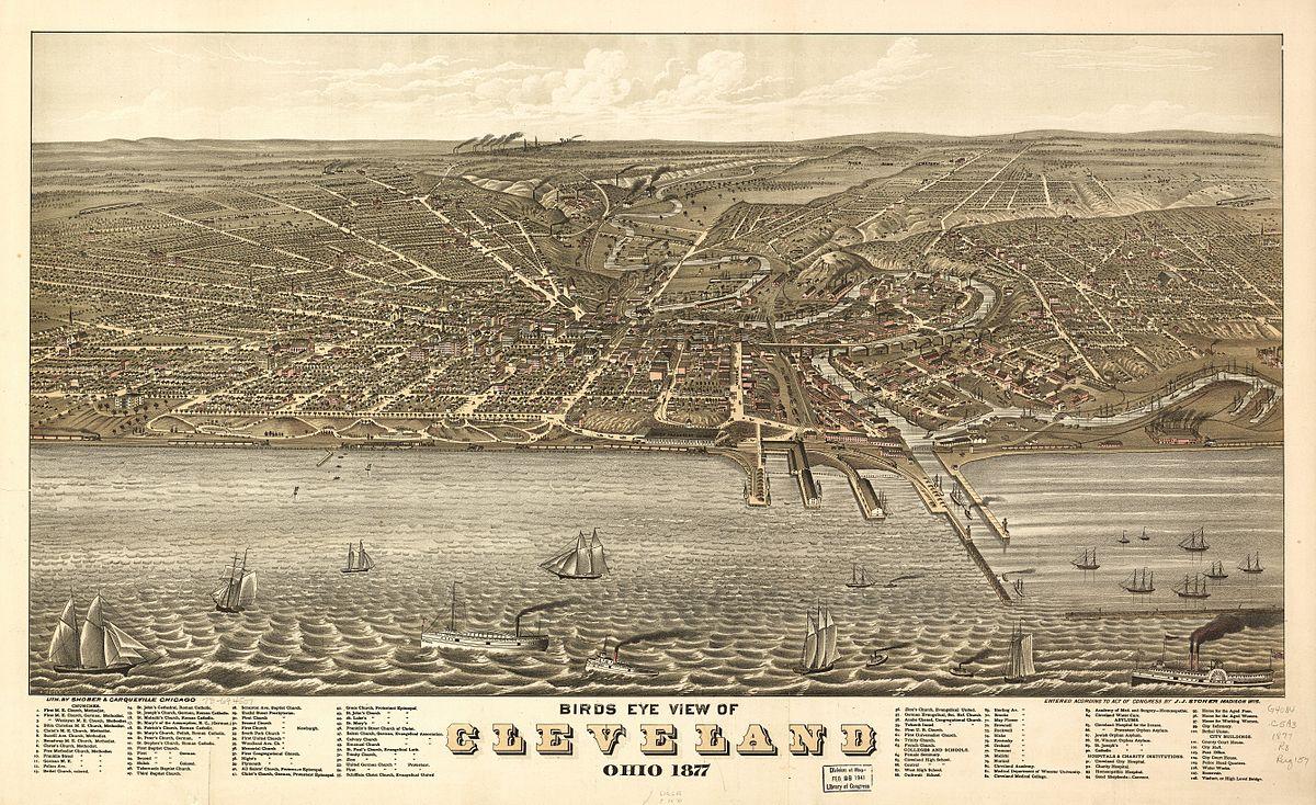 History Of Cleveland Wikipedia