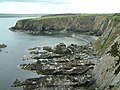 Cliffs at Aber Step - geograph.org.uk - 415813.jpg