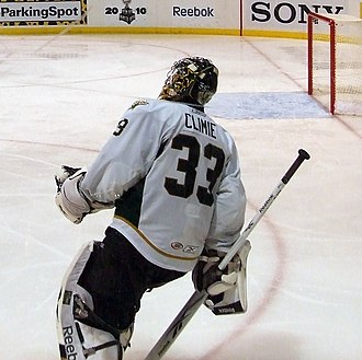 Matt Climie - Climie playing for the Texas Stars in a 2010 playoff game.