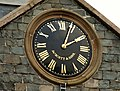 Clock, Ballynahinch (2) - geograph.org.uk - 1607369.jpg