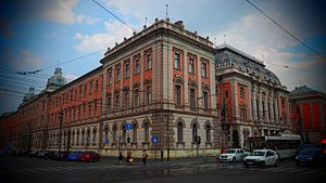 Cluj-Napoca - The Palace of Justice