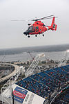 Coast Guard Helicopter Interdiction Tactical Squadron fly over Everbank Stadium 111211-G-OD102-059.jpg
