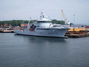 Coast Guard Vessel KV Bergen in Horten, starboard side, picture 2.JPG