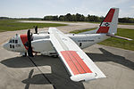 Coast Guard introduces new C-27J Medium Range Surveillance airplane (26168246275).jpg